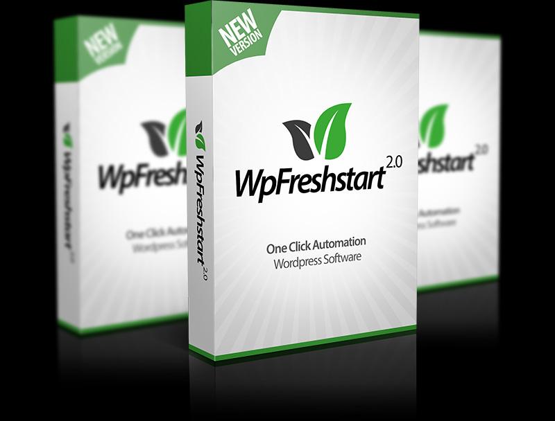 Wp Fresh start v2.0